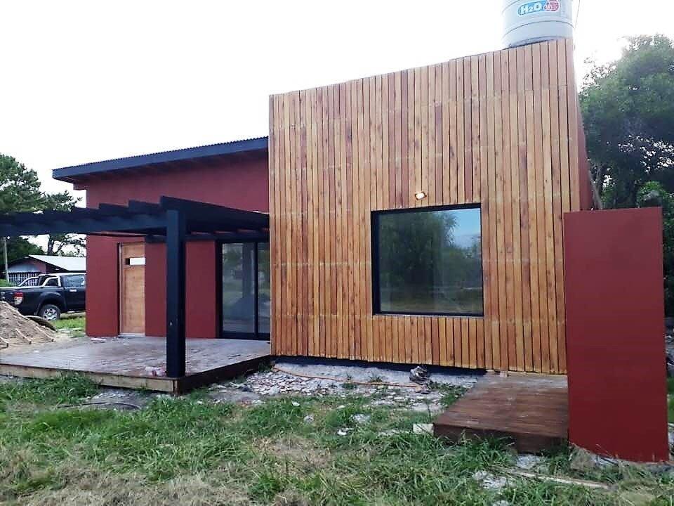 casa 4 ambientes de corte moderno
