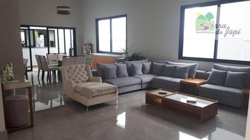 casa 4 dormitórios condomínio portal da colina 464 m²- r$ 2.600.000 - caxambu - jundiaí/sp - ca1865