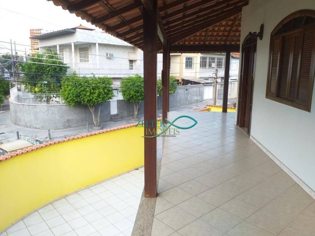 casa 4 quartos, no bairro araújo em vista alegre, 222 m², suíte, varandão, churrasqueira, garagem para 4 carros - ca0351
