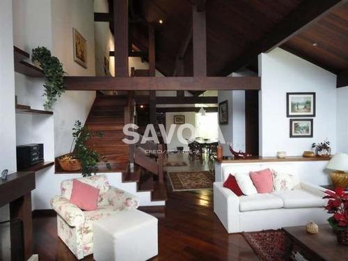 casa 4 suítes, arquitetura moderna, canto da praia - 301