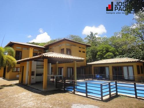casa 4 suítes no condomínio quintas de sauípe - ca00033 - 33578562