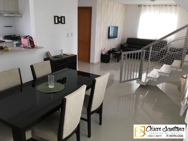 casa 4/4 condomínio fechado foz do joanes buraquinho - ca00443 - 33690782