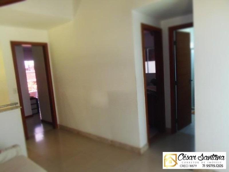 casa 4/4 condomínio fechado lauro de freitas - ca00409 - 33515995