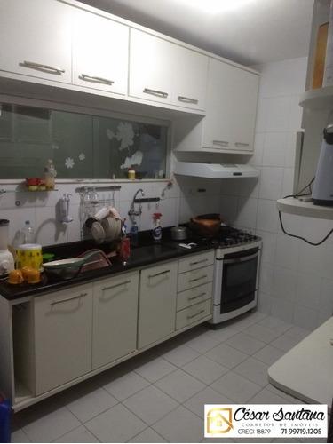 casa 4/4 condomínio fechado - pitangueiras - lauro de freitas - ca00407 - 33488952