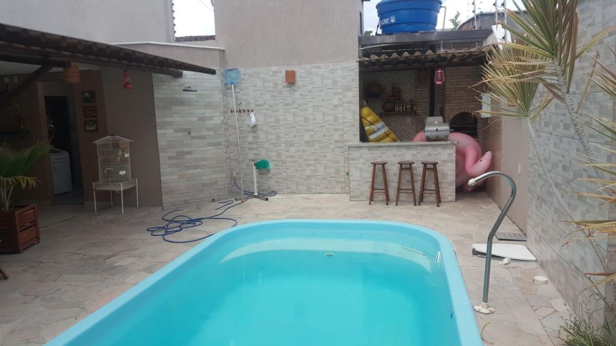 casa 4/4,na cidade nova,com closet e piscina .documentação