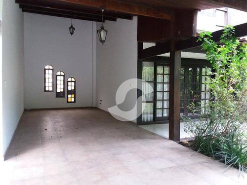 casa 5 suites, piscina, sauna, pendotiba, niterói. - ca0447