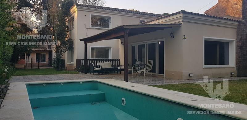 casa 6 amb. 350 m2 cosntruidos. s/lote 680 m2 con parque y piscina - san isidro