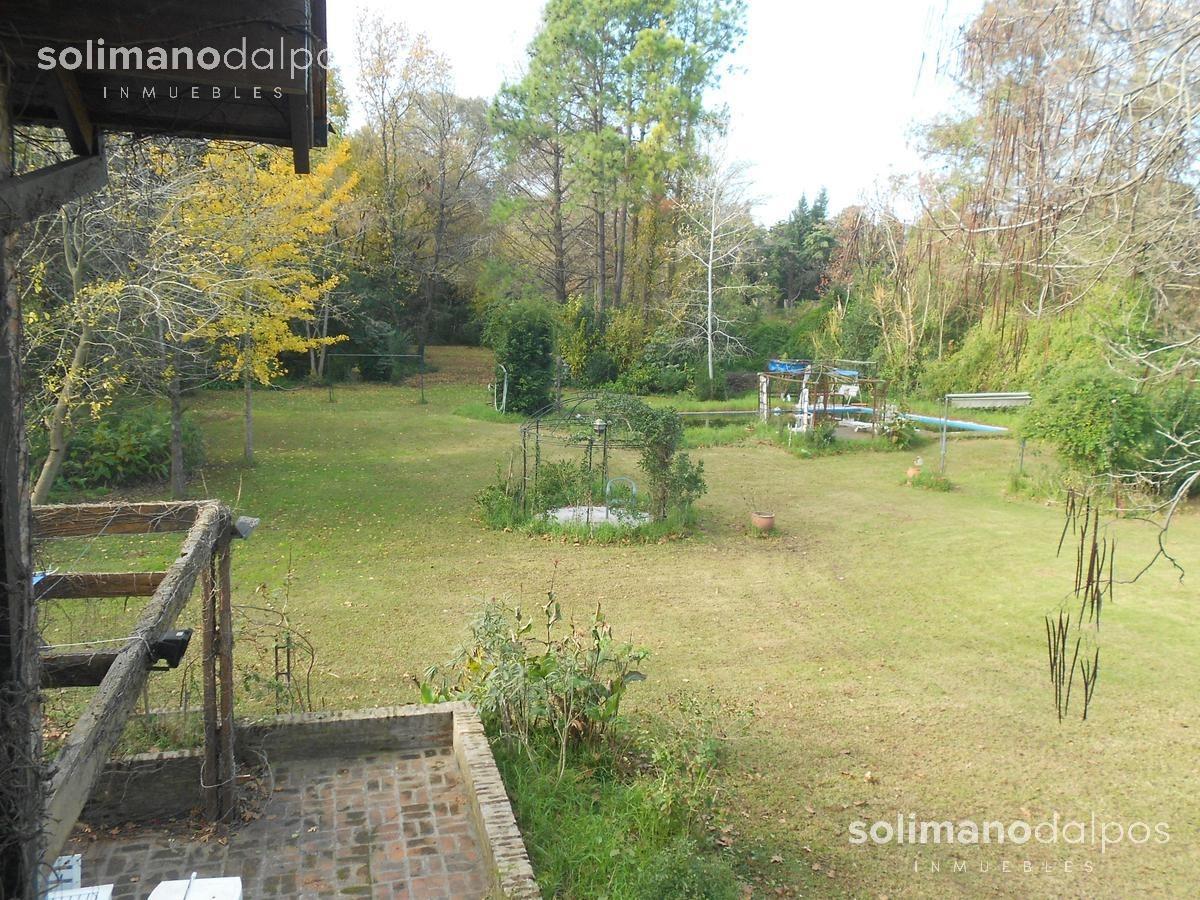 casa 6 amb con pileta y hermoso parque en ingeniero maschwitz