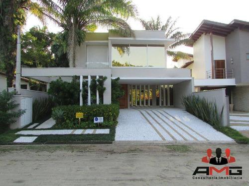casa 6 suítes, módulo 18 - riviera são lourenço - ca0391