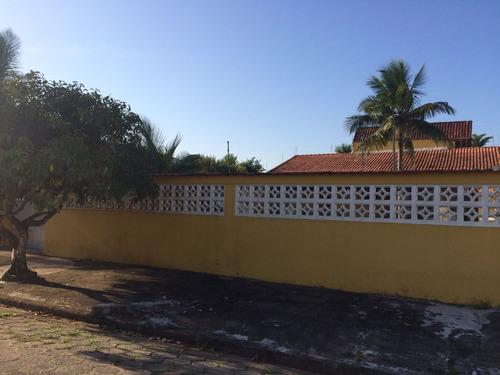 casa a 300 metros da praia, 3 dorm, rua calçada, 345m² total