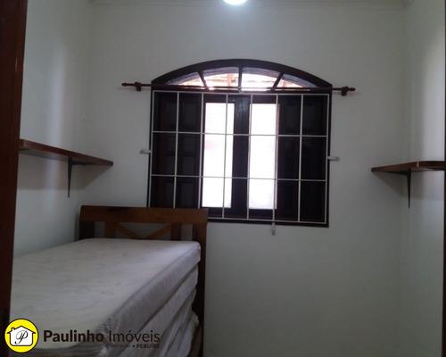 casa a 300m da praia com 3 dormitórios piscina e churrasqueira para locação de temporada na cidade de peruíbe. - ca01794 - 2469189