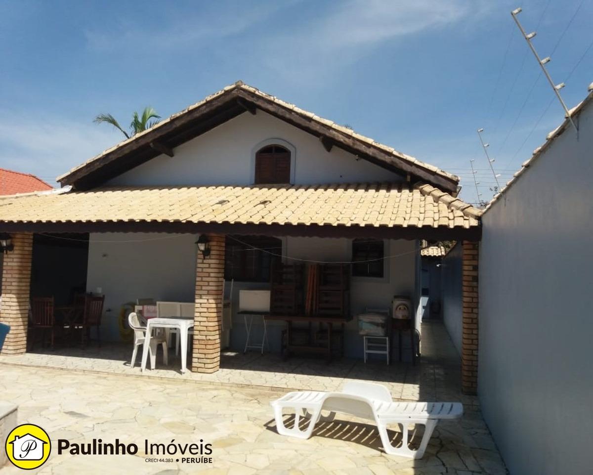 casa a 300m da praia com 3 dormitórios piscina e churrasqueira para locação de temporada na cidade de peruíbe. locada de 21/12/2019 à 13/01/2020 - ca01794 - 2469189
