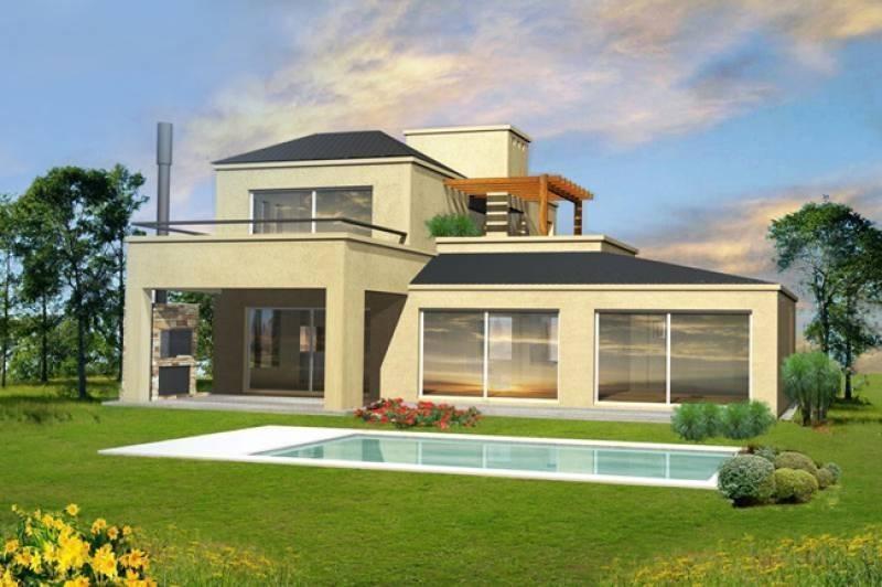 casa a construir sobre lote interno en san rafael, villanueva