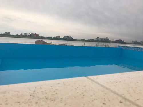 casa a estrenar en santa rita a la laguna con piscina