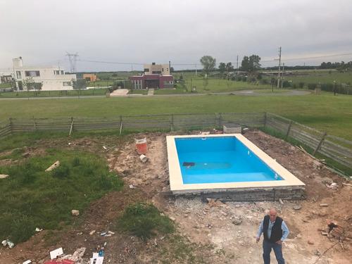 casa a estrenar en santa rita con piscina