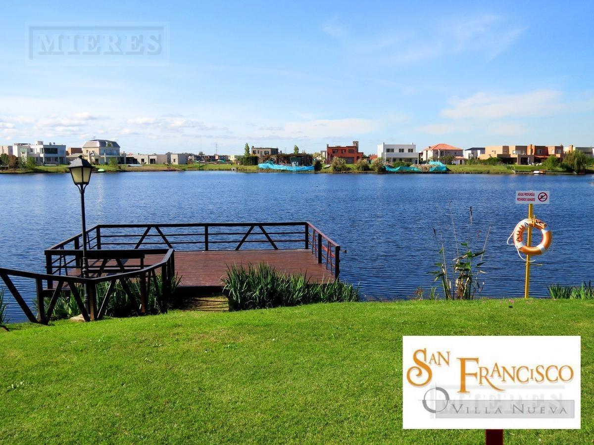 casa a estrenar en venta en san francisco - lote a la laguna