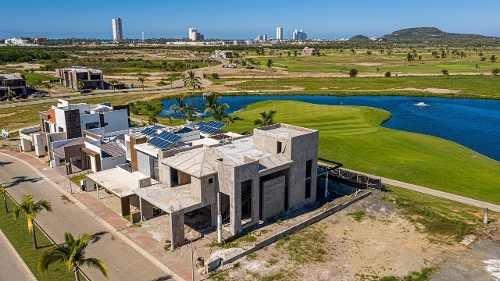 casa a la venta en mazatlan, marina el cid campo de golf