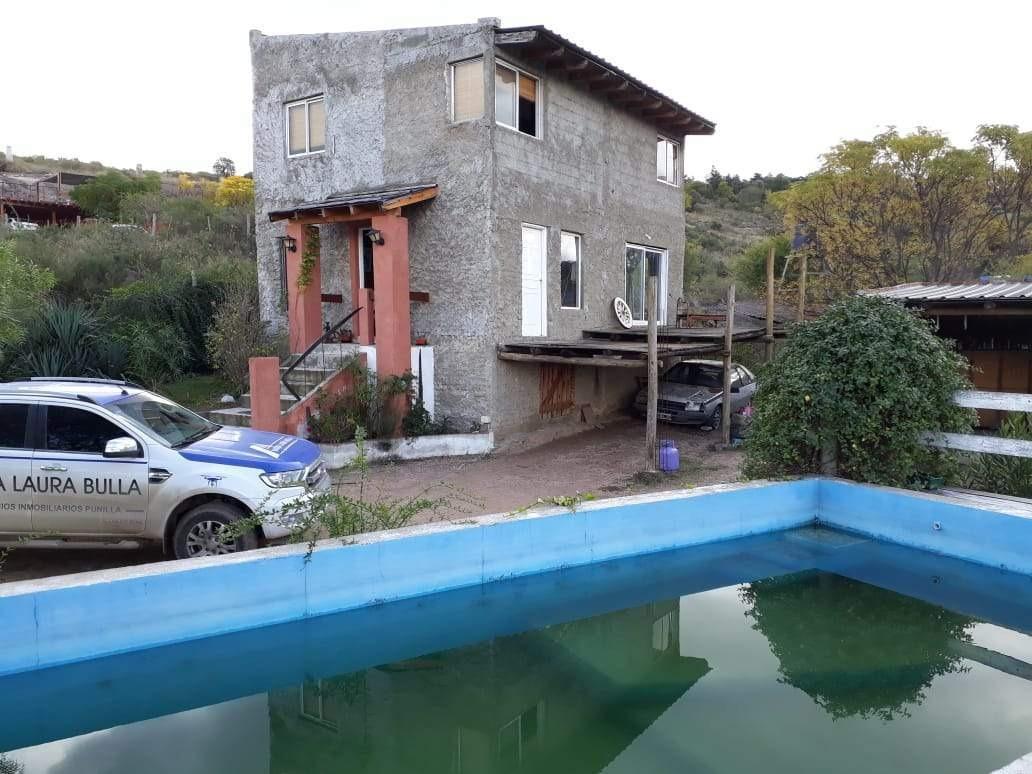 casa a la venta en mirador del lago, bialet masse, con vista 360 grados.(c40)