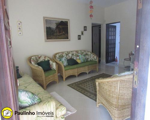 casa a venda com 2 lotes na praia de peruíbe - ca02763 - 32072202