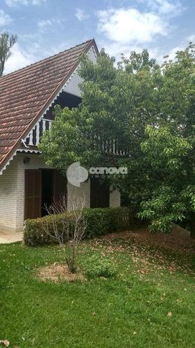 casa á venda e para aluguel em condomínio chácaras do alto da nova campinas - ca001119