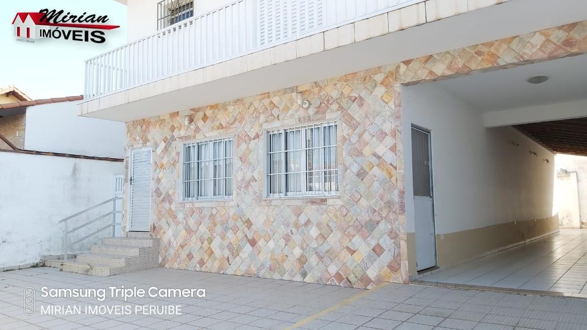 casa a venda e para locação em peruíbe a 1000 metros da praia - ca01148 - 34631362