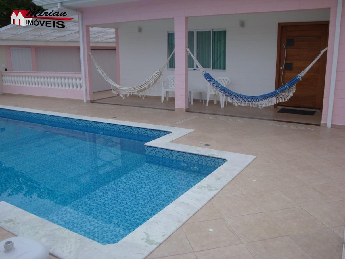 casa a venda em 2 lotes de terreno em bairro nobre 300 metros da praia - ca01129 - 34494385