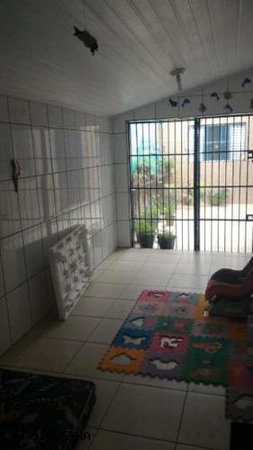 casa a venda em bertioga, vista linda, 2 dormitórios - l19