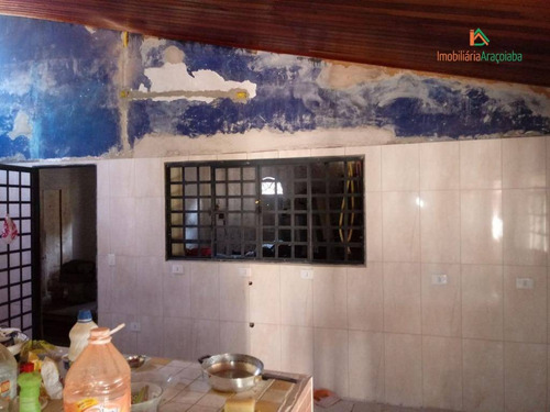 casa á venda em condomínio aquarius em araçoiaba da serra ! - ca0343