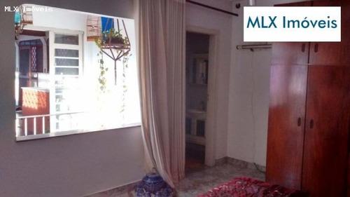 casa a venda em mogi das cruzes, centro, 3 dormitórios, 1 suíte, 3 banheiros, 1 vaga - 489
