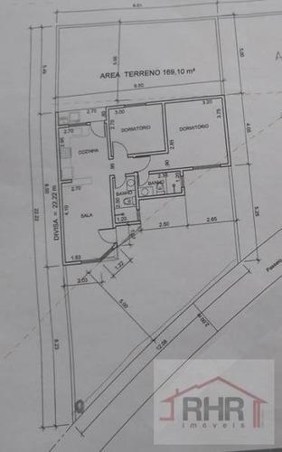 casa a venda em mogi das cruzes, parque olimpico, 2 dormitórios, 1 suíte, 2 banheiros, 2 vagas - 224