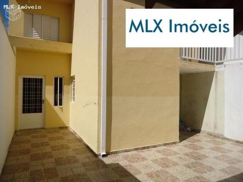 casa a venda em mogi das cruzes, parque santana, 3 dormitórios, 2 banheiros, 2 vagas - 453