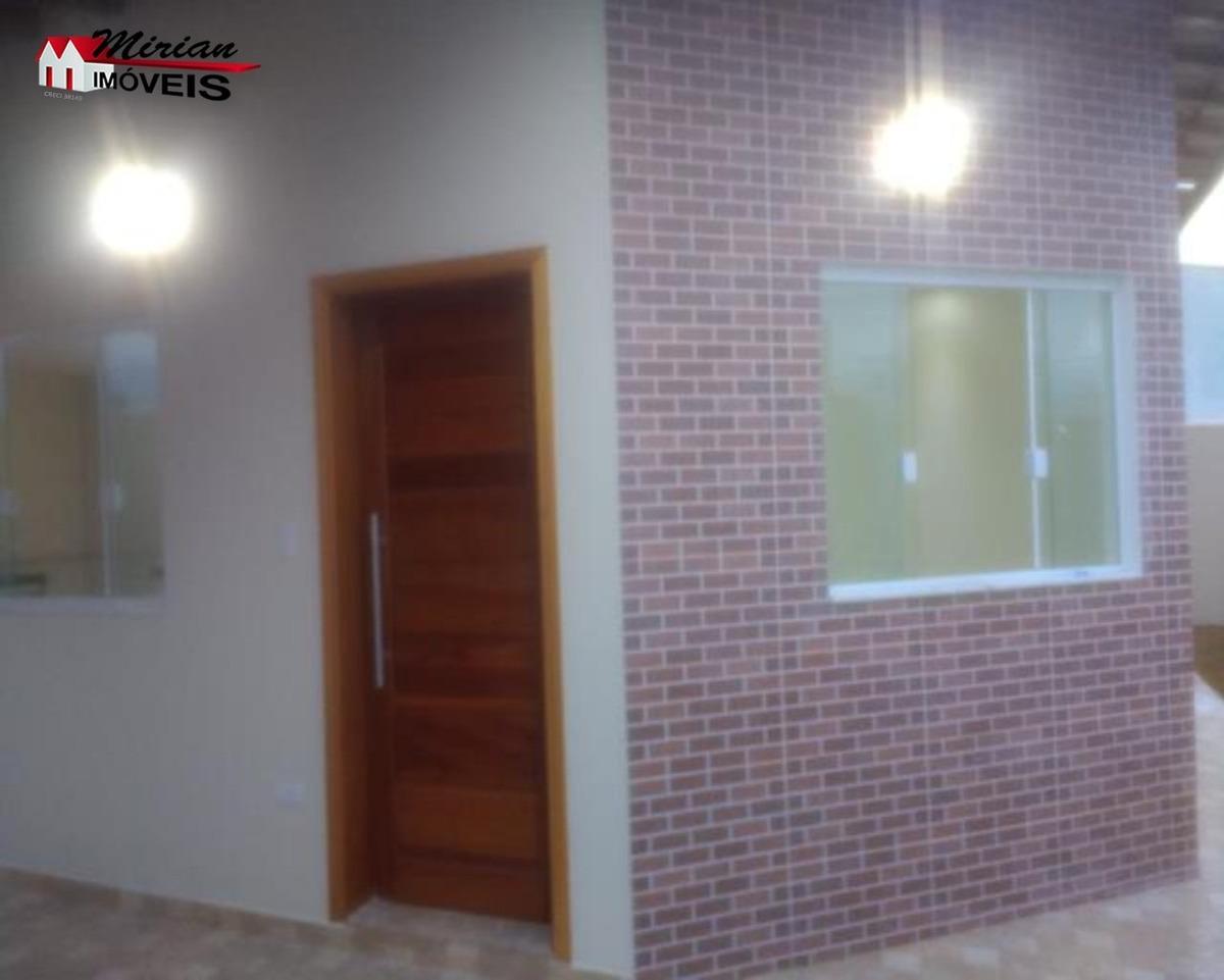 casa a venda em peruibe, 2 dormitórios com suite, aceita financiamento bancário são joão batista - ca00990 - 32774230