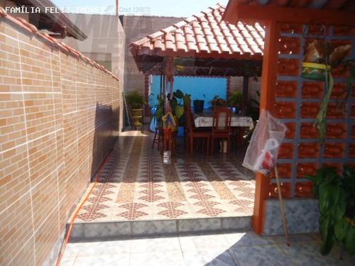 casa a venda em praia grande, balneário maracanã, 3 dormitórios, 2 suítes, 1 banheiro, 2 vagas - ca0367