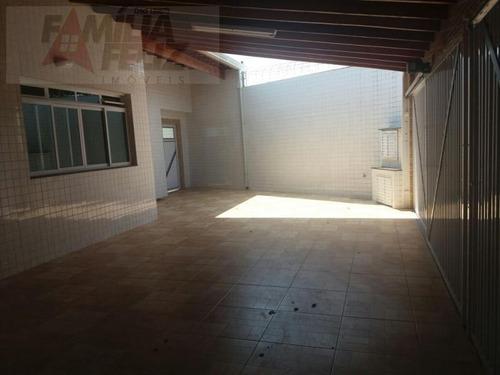 casa a venda em praia grande, caiçara, 5 dormitórios, 2 suítes, 5 banheiros, 4 vagas - ca8542