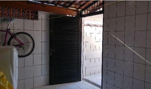 casa a venda em praia grande, jardim real, 2 dormitórios, 1 suíte, 1 banheiro, 2 vagas - ca1255