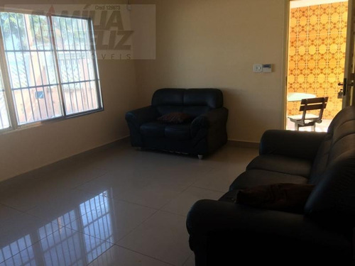 casa a venda em praia grande, jardim real, 3 dormitórios, 1 suíte, 2 banheiros, 5 vagas - ca1025