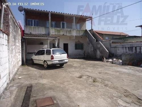 casa a venda em praia grande, vila antártica, 3 dormitórios, 3 banheiros, 10 vagas - ca0348
