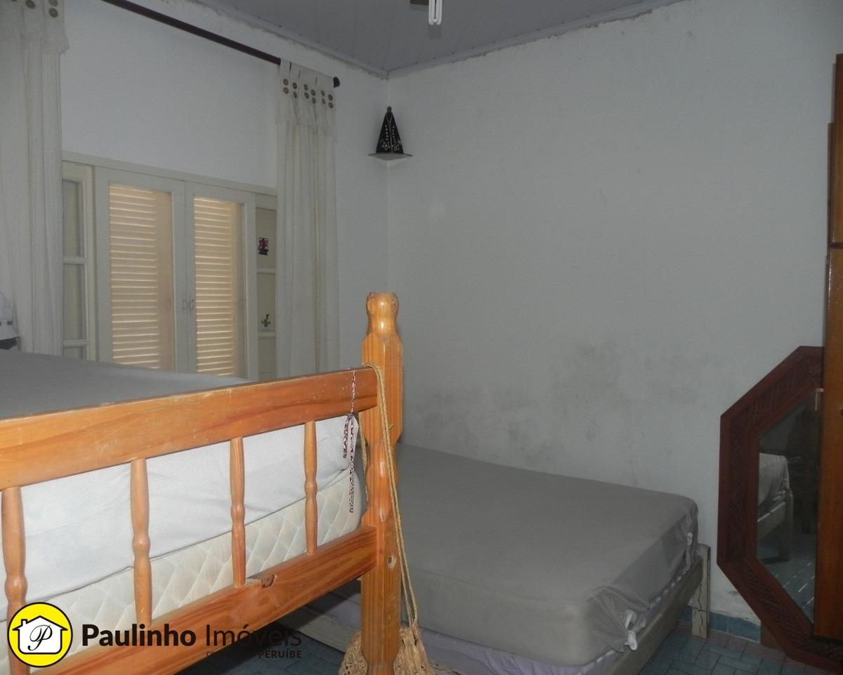 casa a venda na praia de peruíbe, com edícula a 100 metros do mar próxima ao centro. - ca03136 - 33735133