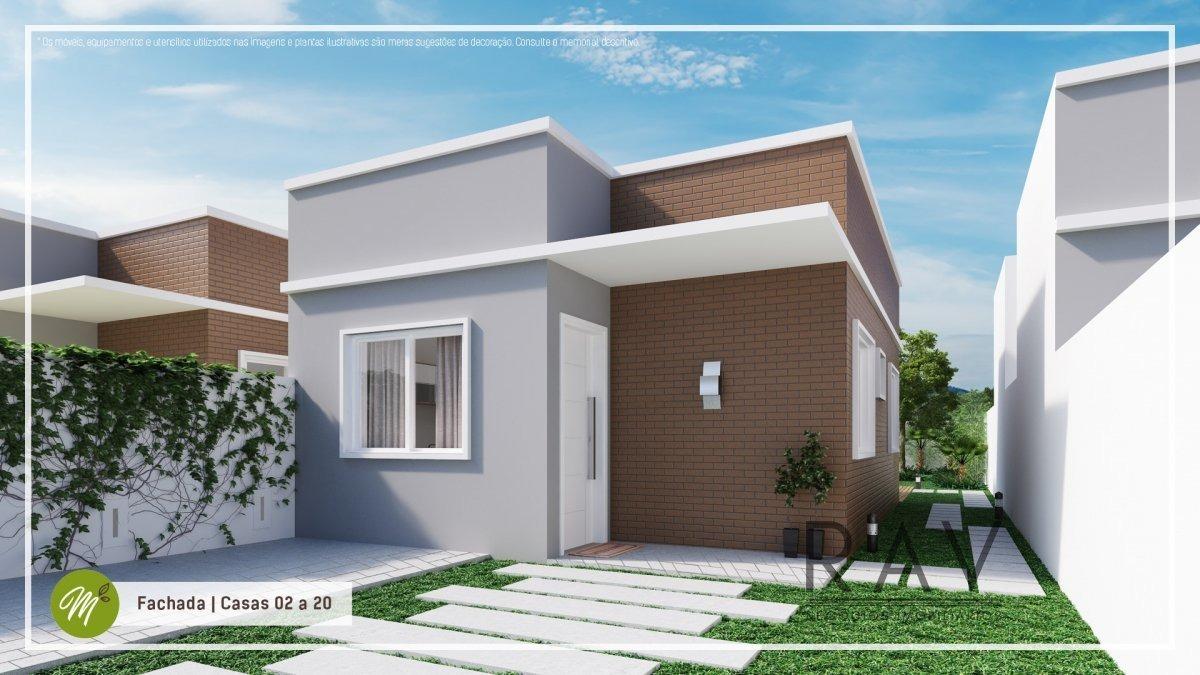 casa a venda no bairro capela velha em araucária - pr.  - 128-1