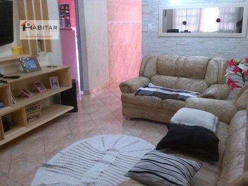 casa a venda no bairro vila santa rosa em guarujá - sp.  - 419-1