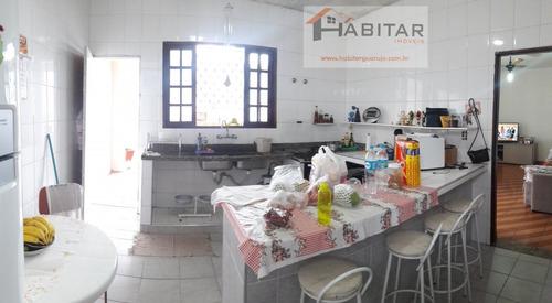 casa a venda no bairro vila santo antônio em guarujá - sp.  - 1127-1