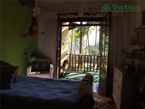 casa a venda residencial palos verdes, granja viana - v-2449