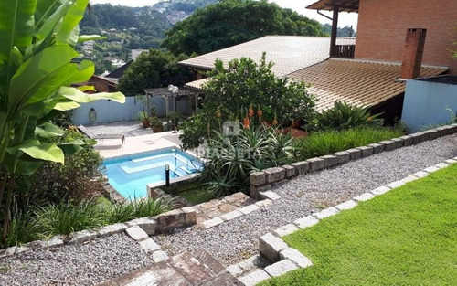 casa aconchegante semi mobiliada 5 dormitórios piscina pomar junto a ufsc na carvoeira
