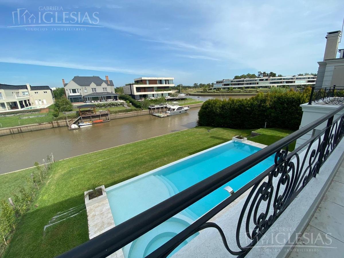 casa al río! en venta con 4 dormitorios en el yacht, nordelta.