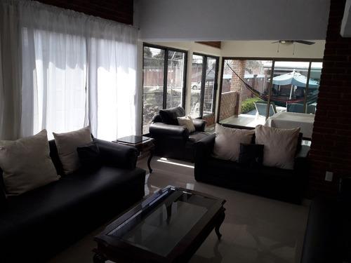 casa alberca tibia y jardin  $ 2500 x dia p/12 personas