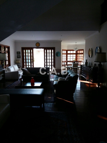 casa alphaville residencial 6 com 4 dormitórios - 5348