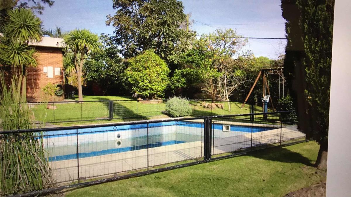 casa alquiler temporada 4 dorm 3 baños barbacoa piscina