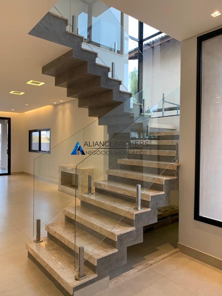 casa alto padrão - 380 m²/ 4 dorm/ 3 suítes/ 4 vagas - reserva da serra, jundiaí. - ca01245 - 33759598