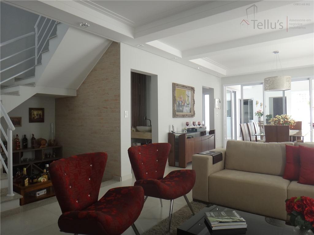 casa alto padrão 4 suítes + edicula à venda, condomínio lago da boa vista, sorocaba. permuta até 40% - ca0057