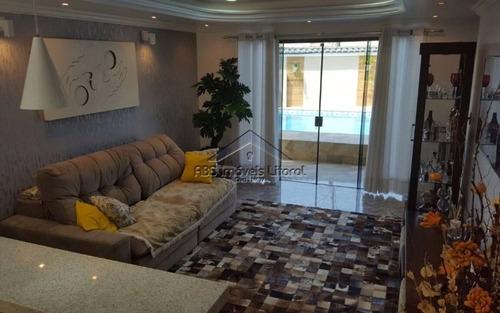 casa alto padrão 5 dormitórios no flórida em praia grande - sp